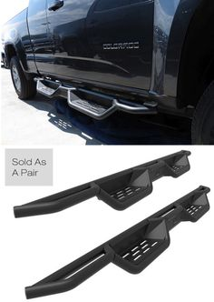 Check out our unique and rugged X-Magnum running boards for the Chevy Colorado. #chevrolet #chevytrucks #chevycolorado