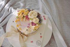 스윙케이크 앙금플라워-  빈티지함이 묻어나는 맛있고 건강한 떡케이크 입니다:) #플라워케이크 #앙금플라워 #flowercake #ricecake #swingcake #떡케이크
