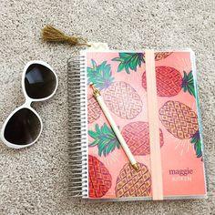 Erin condren. Pineapples planner
