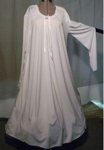 Renaissance Chenise, Renaissance Undergarments, Chemise Nightgown