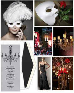 This has GREAT ideas for my Masquerade Ball:D
