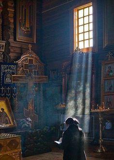 Αύρα Καλαμπάκας, Άγιος Γεώργιος Αύρας, Γέροντας Δωρόθεος Orthodox Prayers, Orthodox Christianity, Architecture Religieuse, Sign Of The Cross, Church Architecture, My Church, Orthodox Icons, Place Of Worship, Sacred Art