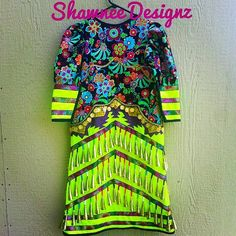 old style meets contemporary.loved the floral fabric for this one, gold cones, iridescent rainbow chevron ribbon Native American Dress, Native American Regalia, Dance Outfits, Dance Dresses, Dress Outfits, Jingle Dress, Powwow Regalia, Rainbow Chevron, Ribbon Skirts