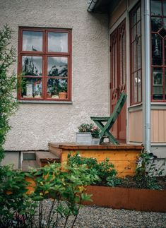 Min trädgård This Old House, Cozy Place, Old Houses, My Dream Home, Ladder Decor, Countryside, Beautiful Homes, Home And Garden, Cottage