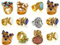 Yves Saint Laurent. Amazing rings.