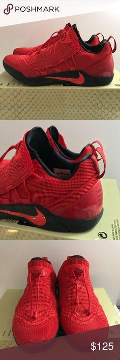 1ca8ae0d8f3 Nike Mens Kobe A.D NXT University Red Crimson New in box but box has no lid
