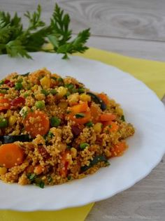Fried Rice, Grilling, Good Food, Food And Drink, Menu, Vegetables, Cooking, Ethnic Recipes, Dinner Ideas