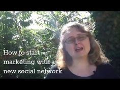 How to start marketing with a new social network #30dayvideochallenge