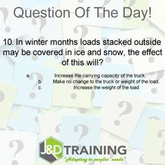 Forklift question of the day 25 from http://ift.tt/1HvuLik #forklift #training #safety #jobsearch