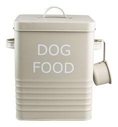 Vintage Retro Style Matt Enamel DOG FOOD Tin ~ The Trendy... https://www.amazon.co.uk/dp/B007RELVJG/ref=cm_sw_r_pi_dp_x_ZvYOybP8YRQ1V