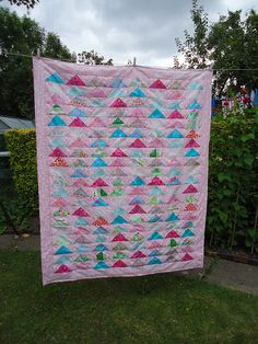 flying geese #quilt