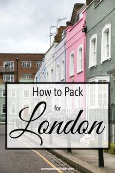 Today I bring you A Lady in London's guide to how to pack for London, England. Wherever you're traveling from and however long you're staying, it will help.
