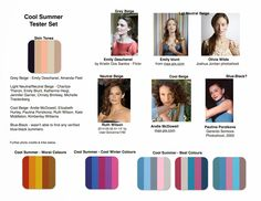 Words on Home: Cool Summer Colours