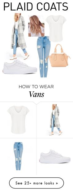"""Plaid coats"" by bre-winter on Polyvore featuring AYR, Vans and See by Chloé"