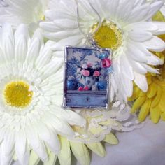 Pendant reversible pendant glass pendant lead by DesignbySimplydv9, $25.00