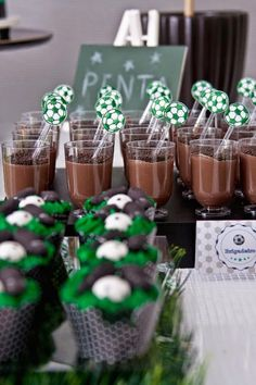 World Cup Soccer themed birthday party with Lots of Fun Ideas via Kara's Party Ideas | KarasPartyIdeas.com #worldcup #soccerparty #soccerbirthdayparty #partydecor #partyplanning #partyideas (24)