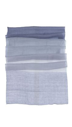 b67b3590d7d Hand Rolled Cheche Wrap - Grey by a   R Cashmere. Love the colors Hand