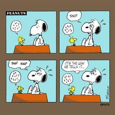 story time with Snoopy and Woodstock
