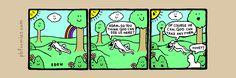 The Perry Bible Fellowship Funny Cartoons, Funny Comics, Perry Bible Fellowship, Funny Comic Strips, Garden Of Eden, Adam And Eve, Feeling Happy, Funny Pictures, Jokes