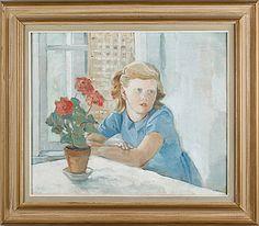 KARL ÖRBO, olja på duk, signerad och daterad -48. Karl, Bukowski, Artist, Painting, Painting Art, Paintings, Painted Canvas, Drawings, Artists
