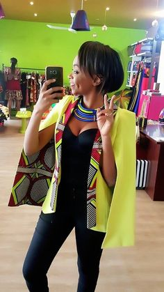 Outstanding Cape Blazer by Nana Wax - Frolicious Are you looking for African inspired Fashion? You should check out the beautiful and outstanding Cape Blazer by Nana Wax. African Inspired Fashion, African Print Fashion, Africa Fashion, Fashion Prints, African Print Dresses, African Fashion Dresses, African Dress, African Prints, Ghanaian Fashion