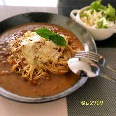 夕飯の残りを活用! 簡単おいしい「カレーパスタ」のレシピ&作り方 ... 「カレーパスタ」をお家で作ろう!