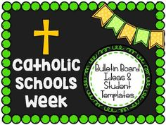 """This product includes options and ideas for a Catholic Schools Week Bulletin Board Idea or Wall Display.Contents:9 Suggestions for bulletin board titles4 Suggestions for student writing prompts4 variations of a """"Schoolhouse"""" writing paper that students can color and write on for your display:+ Choose between Lined or no lines+ Large schoolhouses with no border can be colored, cut out, and mounted on construction paper+ Smaller schoolhouses with a border can be colored and displayed as…"""