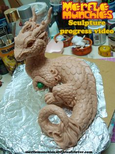 Ideas for teapot--Eastern Dragon Sculpture Video WIP by The-SixthLeafClover