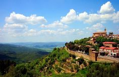 Tuscan Hill Town - Montalcino, Siena - this little village is gorgeous