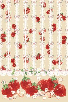 荆棘鸟lolita 可爱 草莓壁纸