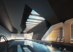 Buy an Apartment in Zaha Hadid's First NYC Building Zaha Hadid Architecture, Landscape Architecture Design, Architecture Awards, Architecture Old, Classical Architecture, Amazing Architecture, Zaha Hadid Design, Famous Architects, Architect House