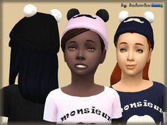 Cap for girls. Installed autonomously a new mesh, 6 variants of staining. Found in TSR Category 'Sims 4 Female Hats'