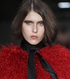 The Best Beauty Looks From London Fashion Week - House of Holland from #InStyle