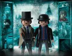 Is this a real product? Playmobil Sets, Toy Display, Steampunk, Lego House, Legoland, Old Toys, Jouer, Sherlock Holmes, Legos