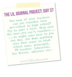 The Lil Journal Project Archives - Ashley Hackshaw / Lil Blue Boo Journal Writing Prompts, Art Prompts, Journal Inspiration, Journal Ideas, School Websites, Writing Therapy, Word Nerd, Personal History, Write It Down