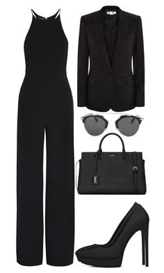 """Untitled #2882"" by kingof21stfashion ❤ liked on Polyvore featuring Narciso Rodriguez, STELLA McCARTNEY, Christian Dior and Yves Saint Laurent"