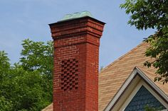Chimney Maintenance Tip: Cracks and spelling in a brick chimney can get worse, but the fix is easy if you do it in time.