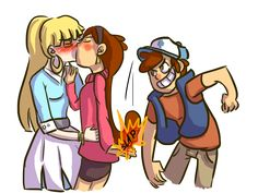 """Dipper's just like """"THATS MY GAY SISTER RIGHT THERE FUCK YEA"""""""