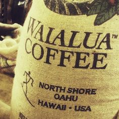 Love Waialua Mokaberry from the Coffee Gallery in Haleiwa!