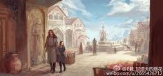 Maedhros and Maglor - Golden Valinor