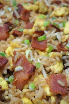 Bacon + Eggs Fried Rice