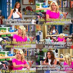"""#YoungAndHungry 1x10 """"Young & Thirty (...and getting married!)"""" - Gabi and Sofia"""