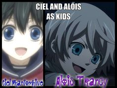 Black Butler Fan Art: Ciel and Alois as kids Black Butler Alois, Black Butler Funny, Black Butler Kuroshitsuji, Ciel And Alois, Chibi, Alois Trancy, Black Butler Characters, Book Of Circus, Ciel Phantomhive