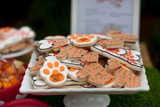 Cookies from a Puppy PAW-ty on Kara's Party Ideas   KarasPartyIdeas.com (15)