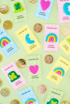 DIY Lucky Charms Brooches