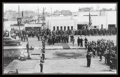 https://flic.kr/p/KGxuYo | Πειραιάς, Μάιος 1952, αναμένοντας την άφιξη του Τούρκου Πρωθυπουργού Αντνάν Μεντερές στη προβλήτα της Τρούμπας.