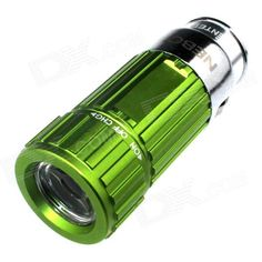 Zhishunjia Mini Car Charger Powered Rechargeable 6500K 60-Lumen Flashlight -Green (DC 12V) . . Tags: #Lights #Lighting #Flashlights #LED #Flashlights #Other #Batteries #Flashlights