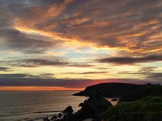 Sunset at Hook Peninsula, County Wexford.  For more Irish sunsets, view here: http://irsh.us/1u1EeHr  (Credit - Luke Myers/Ireland's Content Pool)