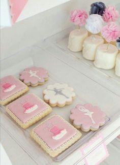 Ballet, ballerina cookies