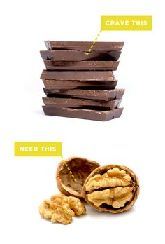 If you crave chocolate, you need: magnesium.